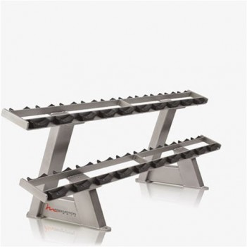 FM EPIC Twin Tier Dumbbell Rack